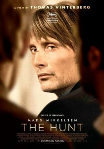 Mads Mikkelsen won the Best Actor Award at the 2012 Cannes Film Festival for his Portrayal of Lucas. Photo Credit: Magnolia Pictures