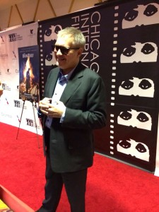 Brian Percival on the Red Carpet in Chicago Photo Credit: Sarah Adamson