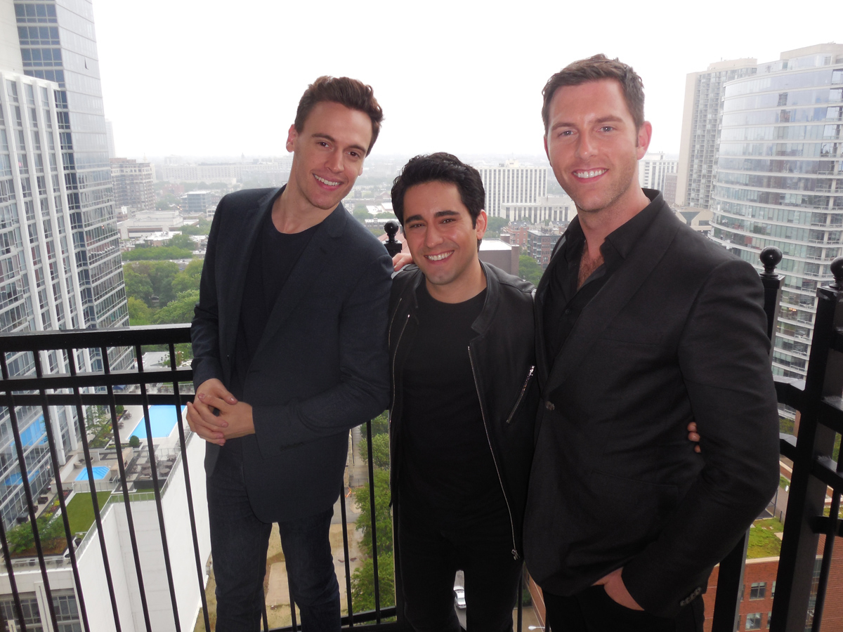 Erich Bergen and Michael Lomenda Interview for 'Jersey Boys