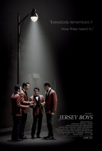 "John Llyod Young, Vincent Piazza, Michael Lomenda, and Erich Bergen start in ""Jersey Boys."" Photo credit: Warner Bros."