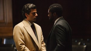 "Oscar Isaac and David Oyelowo star in ""A Most Violent Year."" Photo credit: A24."
