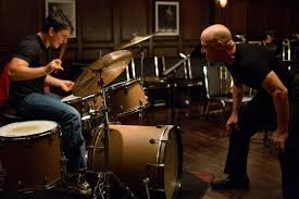 """Miles Teller and J.K. Simmons star in """"Whiplash."""" Photo Credit: Sony Pictures Classics."""