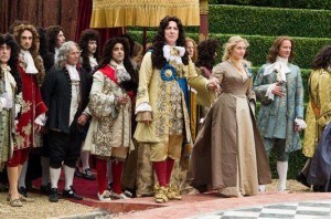 "Kate Winslet and Alan Rickman star in ""A Little Chaos."" Photo Credit: Focus Features."