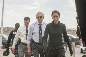 Emily Blunt, Victor Garber, Benicio Del Toro and Josh Brolin star in Sicario. Photo Credit: Lionsgate.