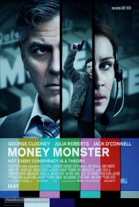 'Money Monster' stars George Clooney, Julia Roberts and Jack O'connel Photo Credit:
