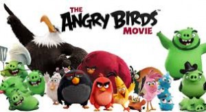 "Comedians Jason Sudeikis, Josh Gad, Maya Rudolph and Bill Hader star in ""The Angry Birds Movie"" (voice-overs). Photo Credit: Sony Pictures."