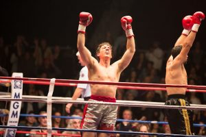 "Miles Teller stars in ""Bleed for This."" Photo Credit: Open Road Films."