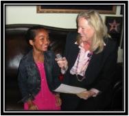 Sarah interviews Yara