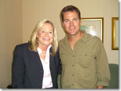 Sarah and Chris O'Donnell
