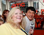 Sarah with Jackie Chan