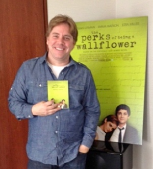 Stephen Chbosky, writer and director of THE PERKS OF BEING A WALLFLOWER. Photo Credit: Sarah Adamson