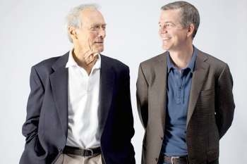 Clint Eastwood and Robert Lorenz. Photo Credit: Jay L. Clendenin/Los Angeles Times